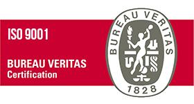 bureau veritas certifikát ISO 9001